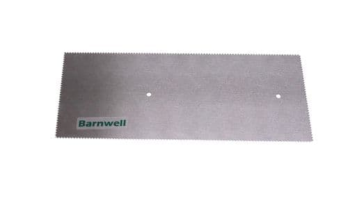 Barnwell 1.0mm Notched Adhesive Trowel Blade x 1
